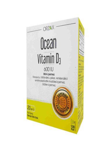 Ocean Ocean Vitamin D3 600 IU Oral Spray 20ml Renksiz